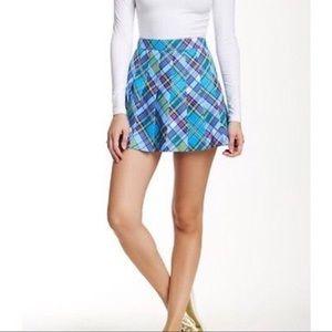 American Apparel AA Plaid pleated Skirt Courtney